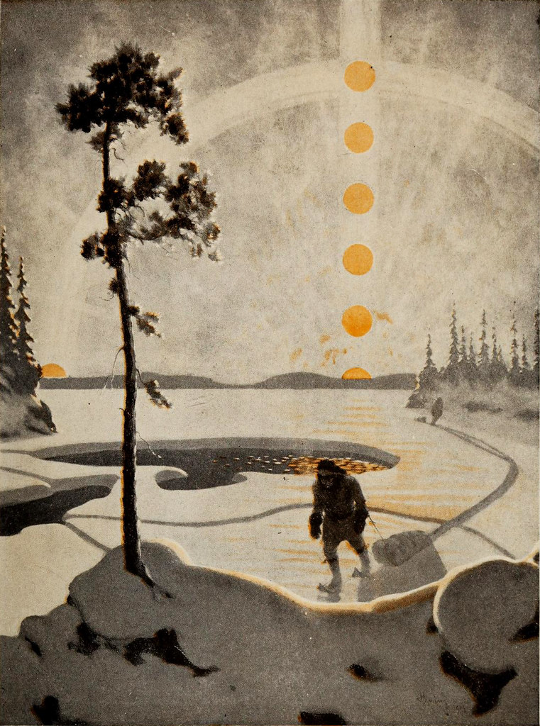 Heming Sunrise By The Public Domain Review
