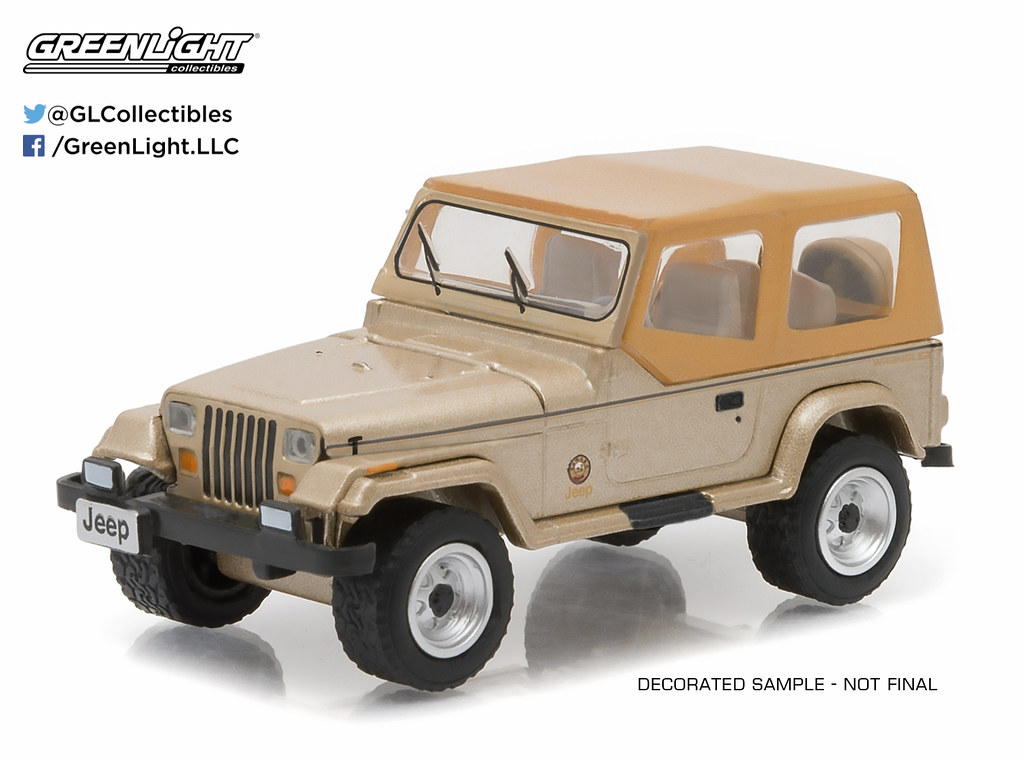 ... 29815 - 1-64 Hobby Exclusive - 1993 Jeep Wrangler Sahara (High Res