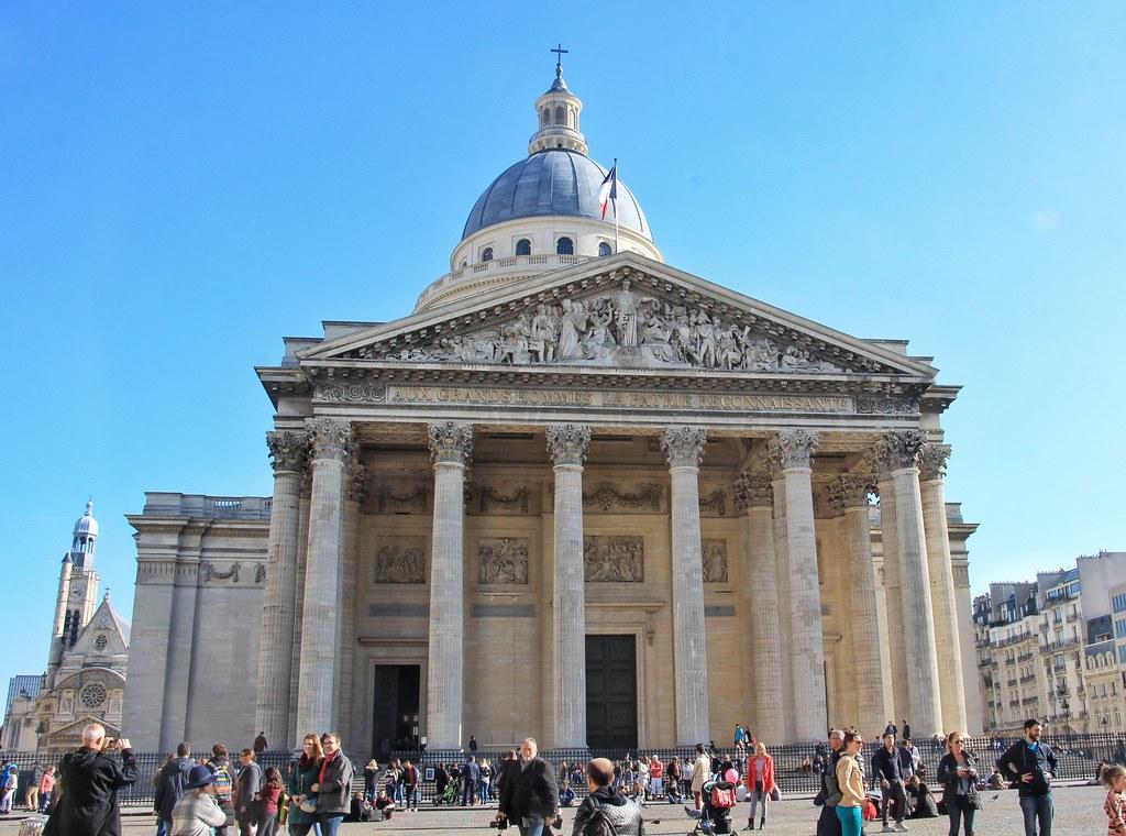 Panthéon, amazing views of Paris