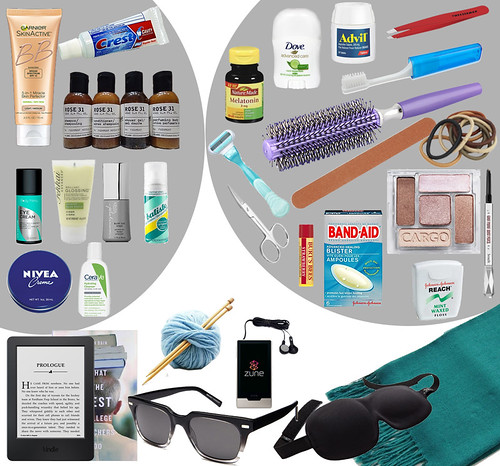 Faculty Interview Packing List (toiletries, travel items)