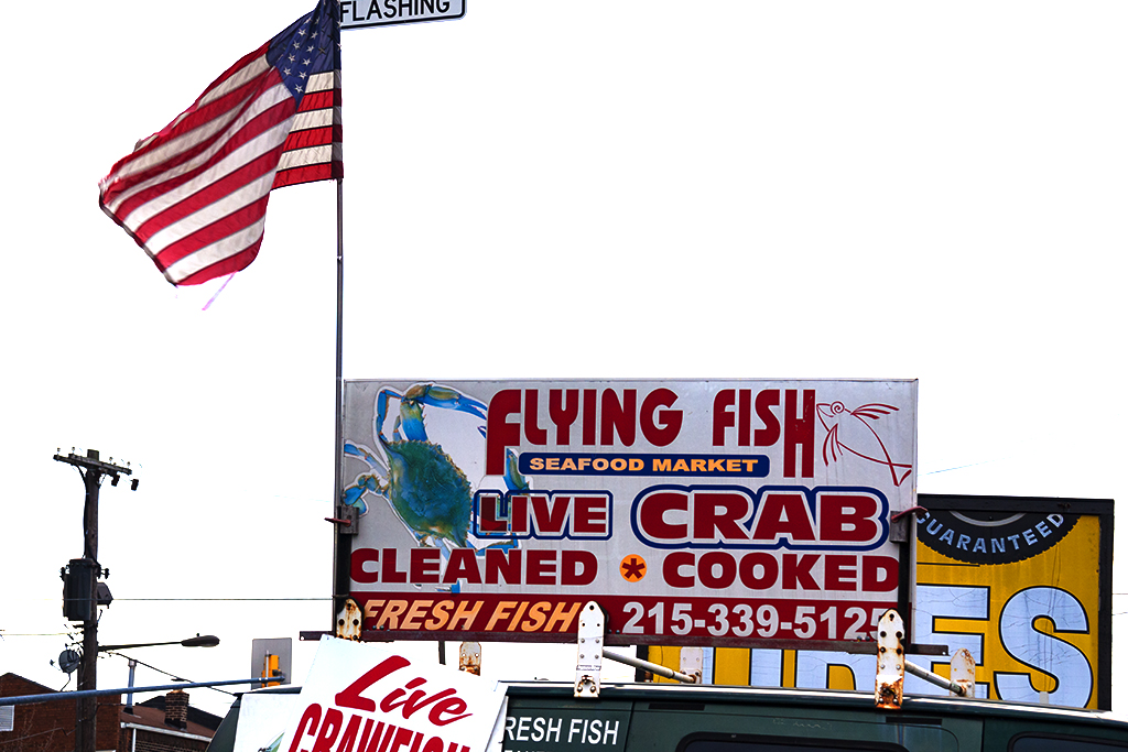 FLYING FISH SEAFOOD MARKET--Oregon Avenue