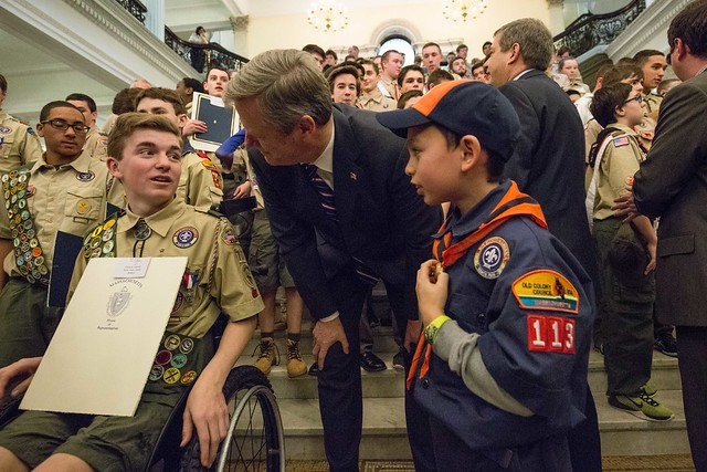 Boy Scout Day on the Hill 02.23.17