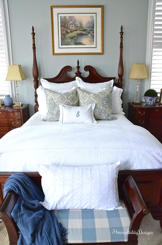 White Bedding-Master Bedroom-Housepitality Designs