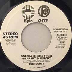 TOM SCOTT:GOTCHA(LABEL SIDE-A)
