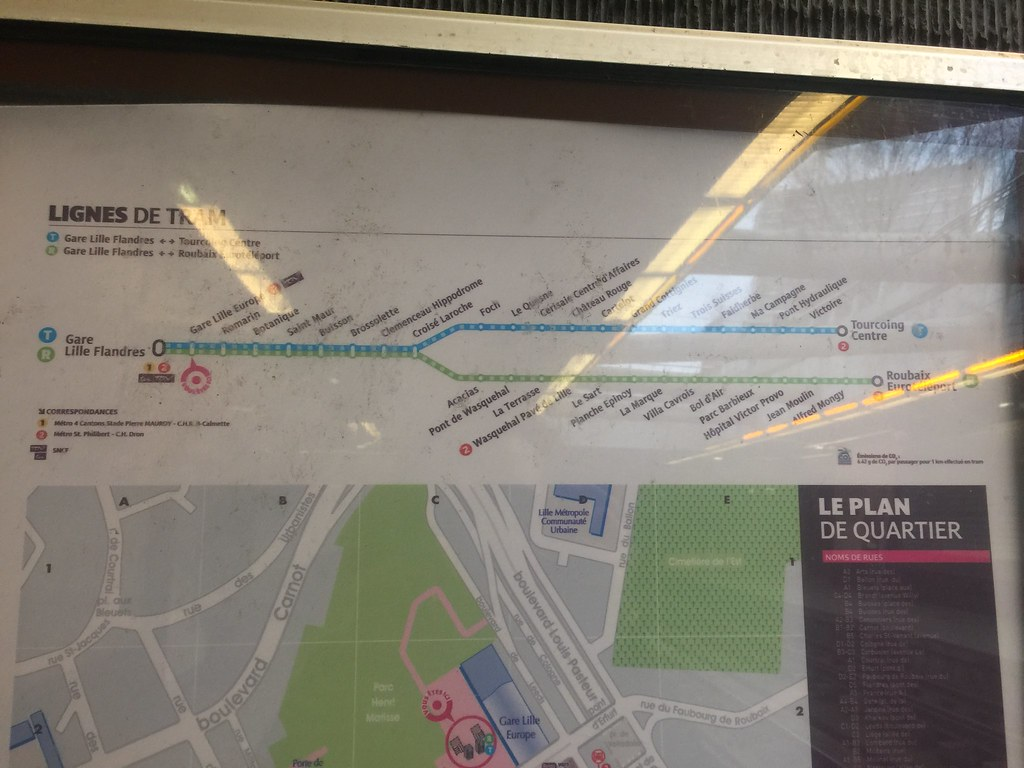 Public Transport In Lille Metro And Trams Adriansyah
