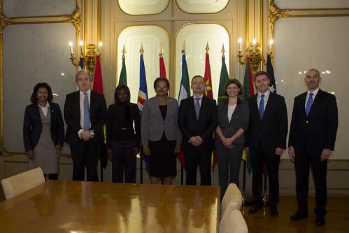 Secretária Executiva recebe Diretor de Serviços da África Subsariana do Ministério dos Negócios Estrangeiros da República Checa