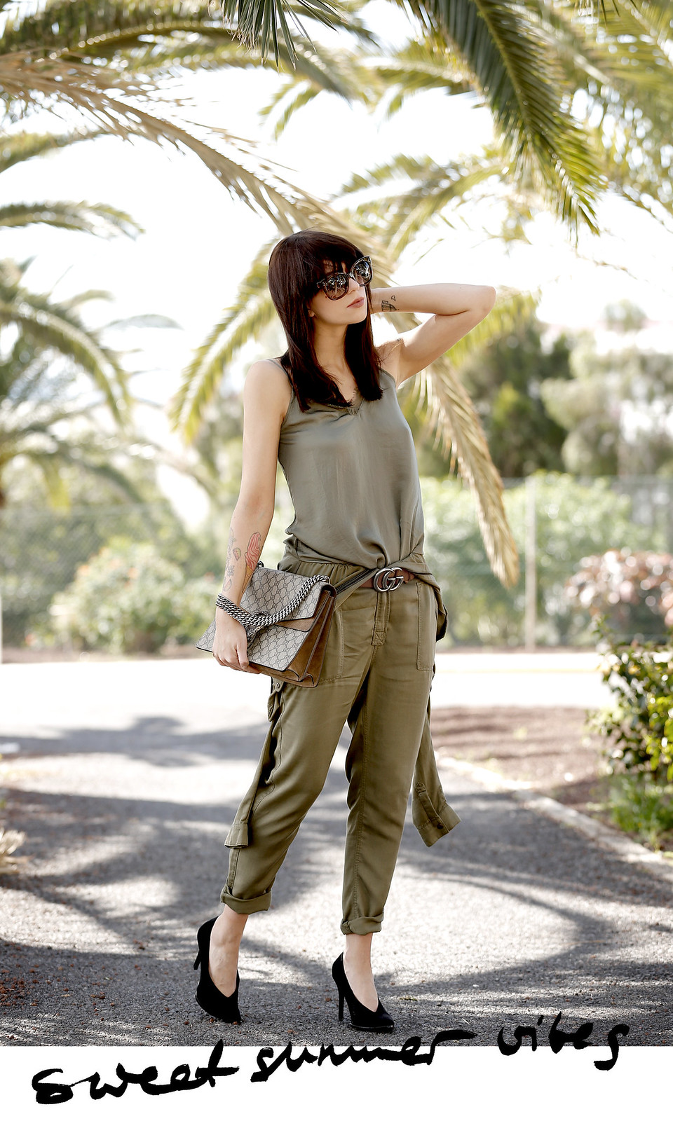 promod african safari jumpsuit khaki outfit ootd blogger modeblogger gucci dionysus céline audrey summer palms travelblogger cats & dogs ricarda schernus düsseldorf blog 8