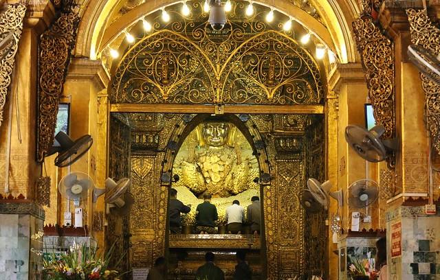 緬甸國寶瑪哈穆尼佛寺