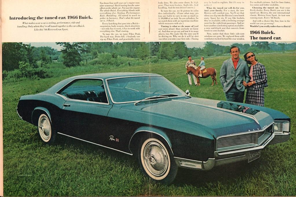 1966 buick riviera gran sport advertisement newsweek novem u2026