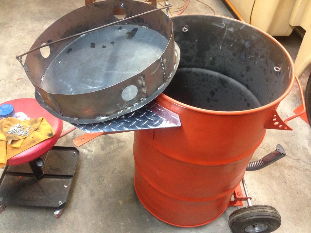 Building a Pit Barrel Smoker | aka ugly drum smokers. www ...