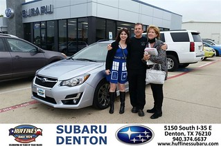 Congratulations Gillian On Your Subaru Impreza Wagon Fro