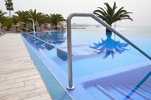 Infinity pool, RIU Palace Hotel, Costa Adeje, Tenerife