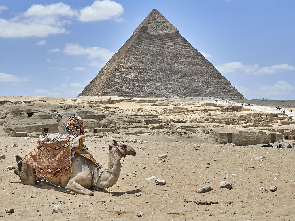 Pirámide de Kefrén, Giza, Egipto