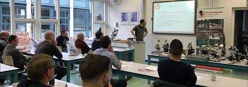 Cursus KoiQuestion microscopie en diagnose bij Koi
