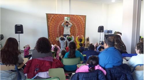 Taller de narración oral en familia con Diego Magdaleno