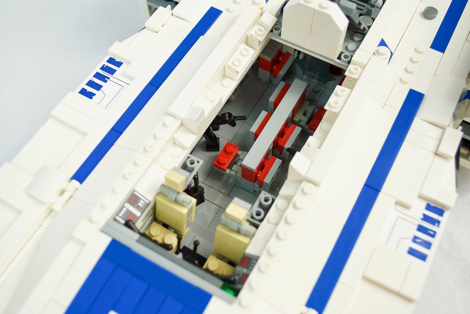UT-60D U-Wing interior