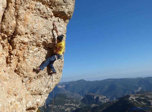 Jesús - 2ª Ronda, 7b -06- Vall de Lord, Sector Serra Creu del Codó, Subsector Freebloc (25-02-2017)