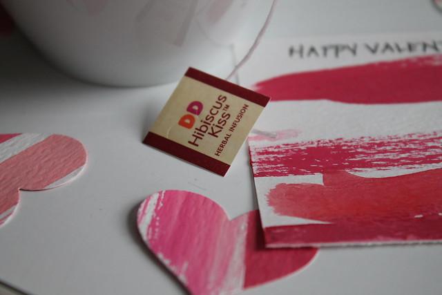DIY Valentine Cards + Dunkin Donuts Premium Teas