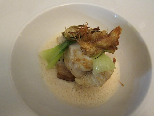 Monkfish with Artichokes