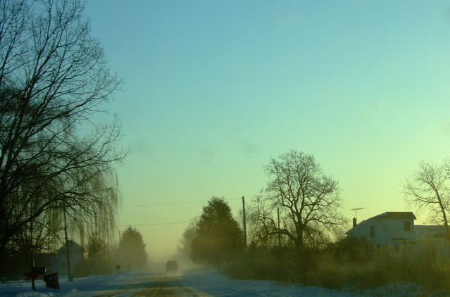 Blowing Snow on Billwood