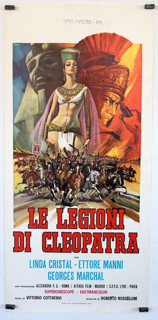 Le Legioni di Cleopatra - Poster 1