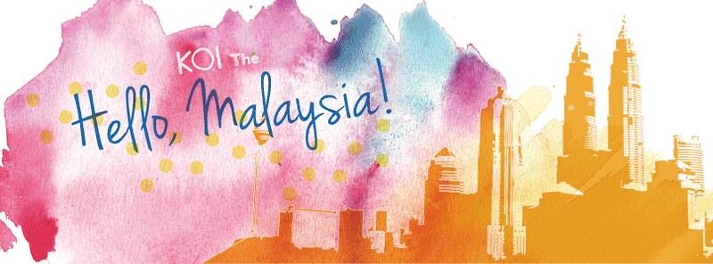 Taiwanese bubble tea koi to open in malaysia for Koi 1 utama