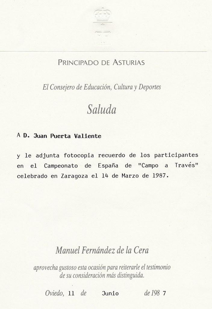 Saluda para Juan Puerta Valiente. Foto 018.