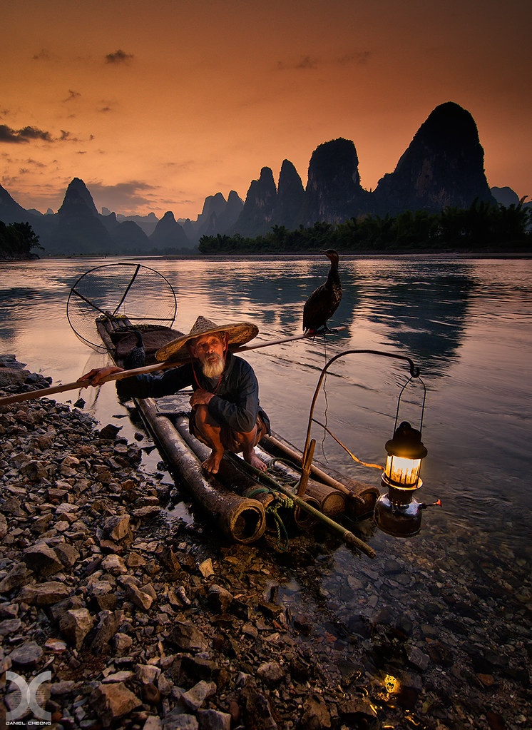 The Old Fisherman | Cormorant fishing on the Li River, China… | Flickr