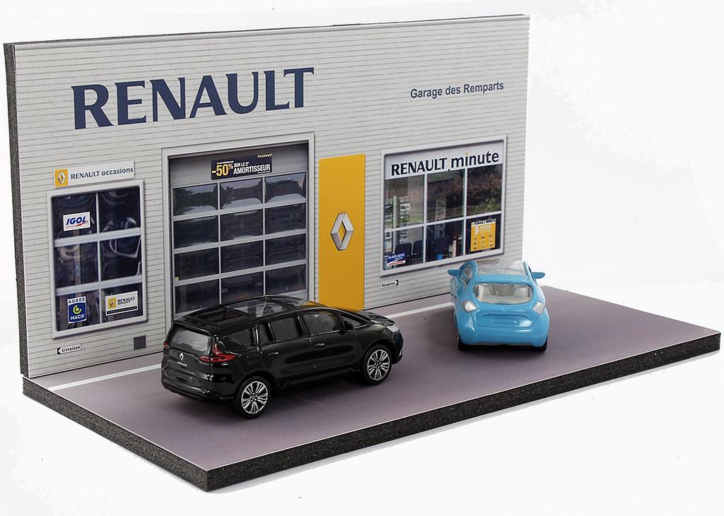 Diorama pr sentoir renault garage des remparts 3 inch for Garage des remparts etampes