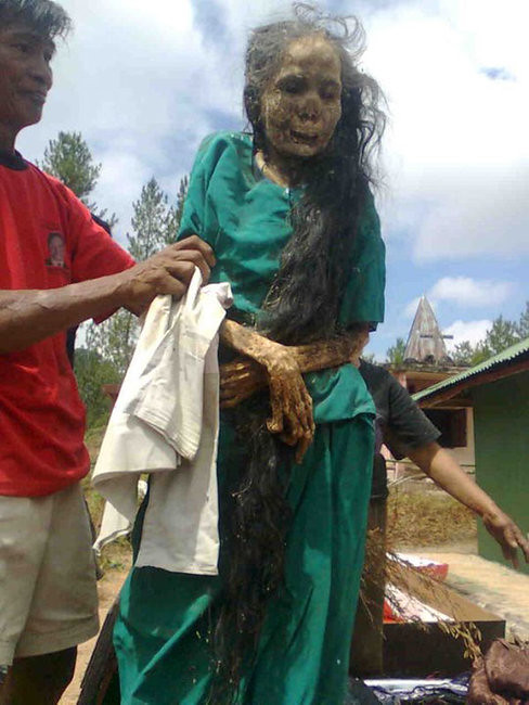 Toraja Corpse on the Ceremony