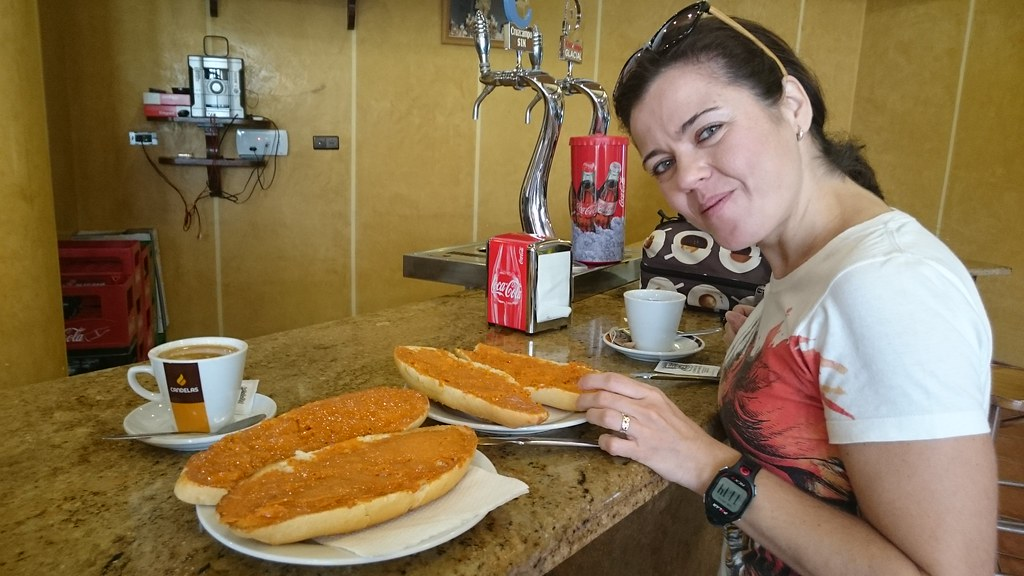 Tostadas en Granada