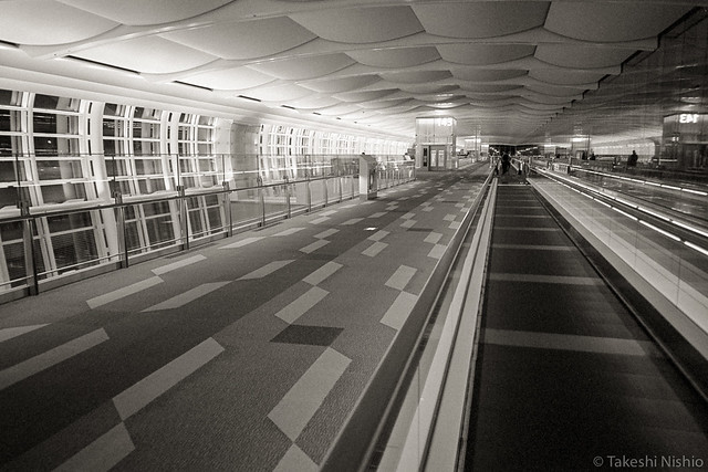 long way to the gate