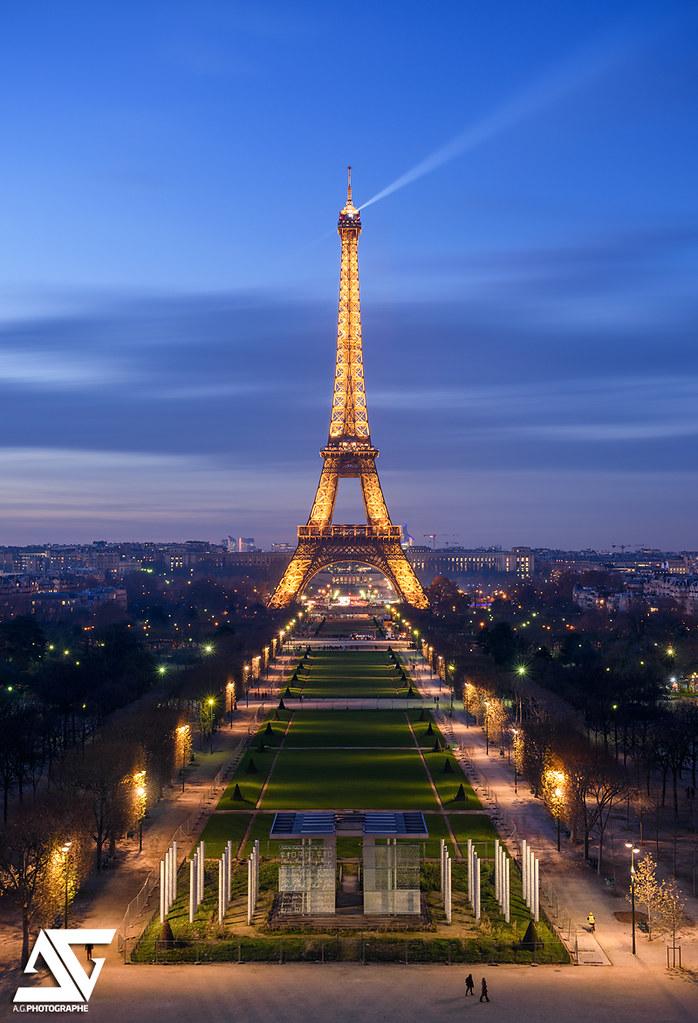 Champ-de-Mars Tour Eiffel