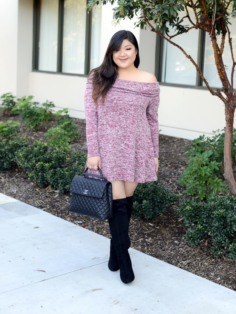 Curvy Girl Chic Plus Size Fashion Blog Kari Lyn Tunic Dress