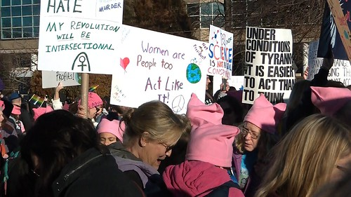 Women's March on St. Louis 1/21/17