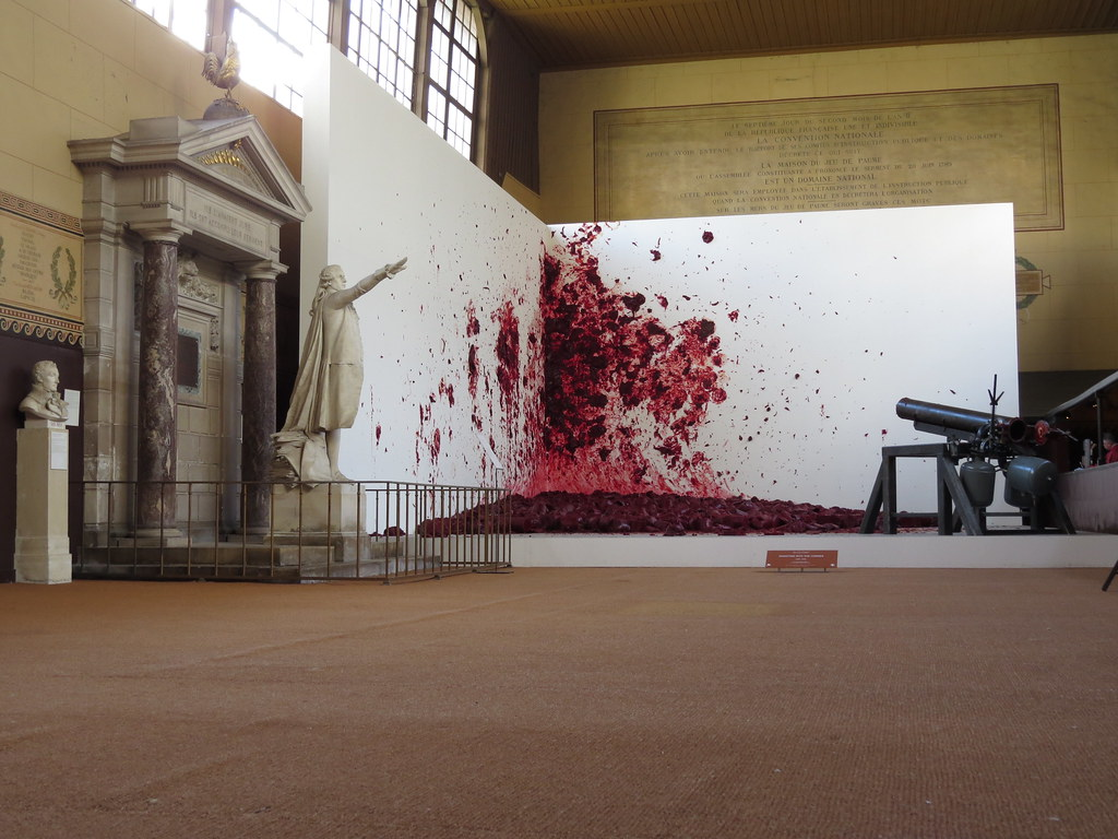 Shooting Into The Corner Anish Kapoor Royal Tennis Cou Flickr