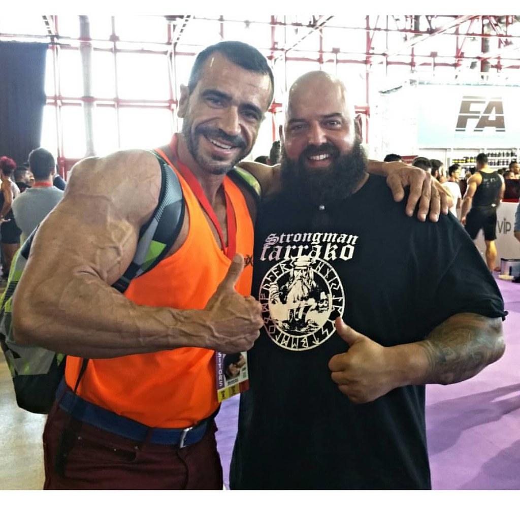 En el ACE com Carlos Demattey (Strongman Tarrako) #tarrako