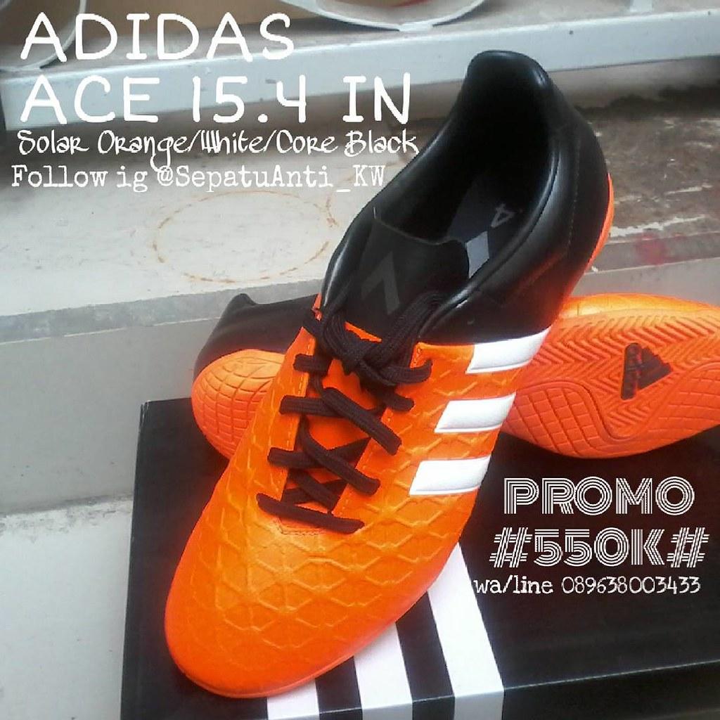 ... Promo 550rb adidas ace 15.4 in solar orange Join olshop kami  sepatuantikw.com Toko Sepatu c7738b4004