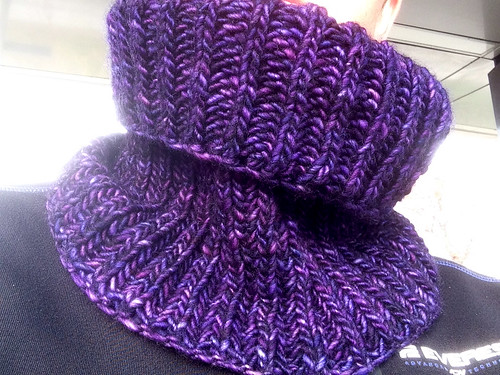 303/365 Purple cowl | by Anetq