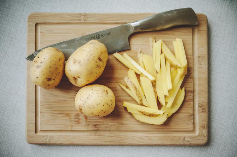 ofriterad pommes frites