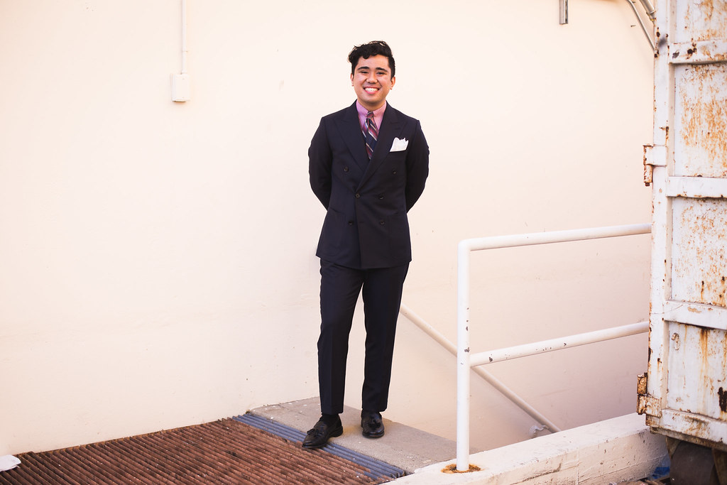 6ccd98e8803 A Second Try at Indochino   The Navy Blue DB Suit