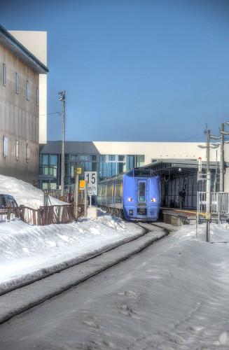 Wakkanai Station on MAR 11, 2017 (1)