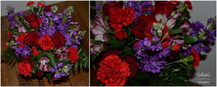 teleflora shining heart bouquet collage