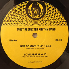 MOST REQUESTED RHYTHM BAND:GOT TO GIVE IT UP(LABEL SIDE-A)