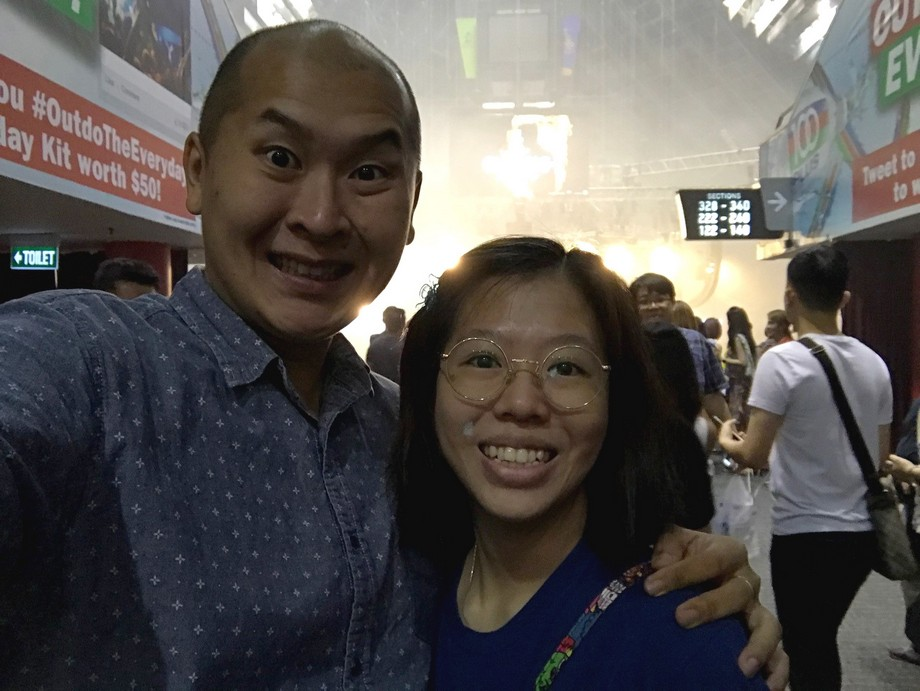 Jacky Cheung Singapore Concert 2017