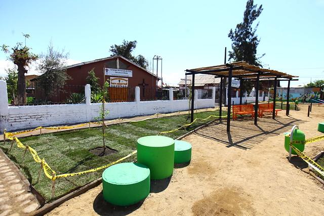 Plaza Buenas Vibras   Pudahuel   Tresmontes Luchetti