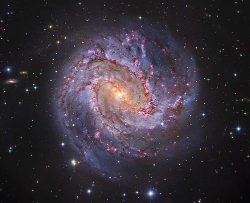 VCSE - Mai kép - Messier 83 - A Déli Szélkerék Galaxis