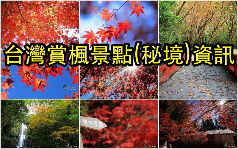台灣賞楓景點-秘境資訊