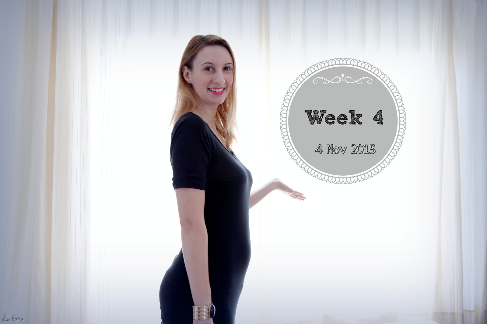 pregnancy weekly picture week 4