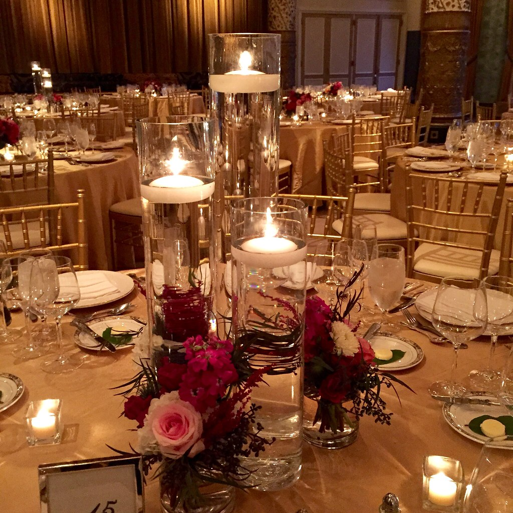 The Drake Hotel, Chicago, Navy Wedding, Magenta And Pink W